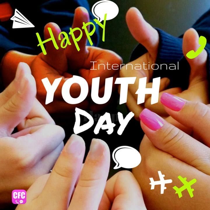 Happy international youth day! Stay young ;)
