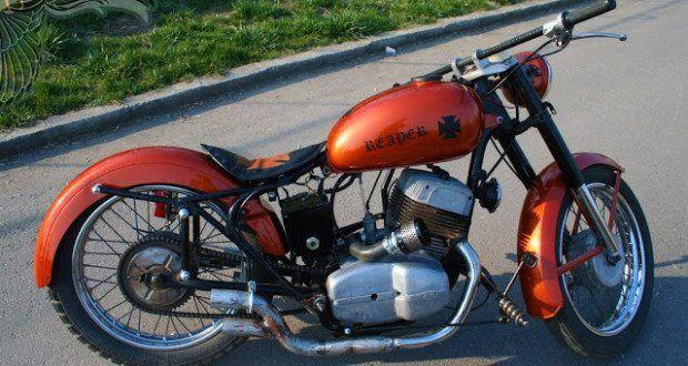 jawa 350 bobber - bikerMetric
