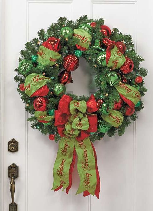 145 best Christmas Poly Deco Mesh Wreaths  Creations images on