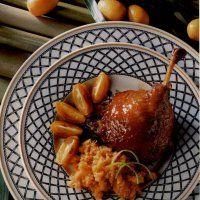 Cuisses de canard laquées aux kumquats - Cuisine et Vins de France