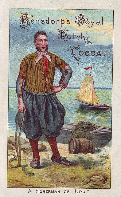 ♥ cacao bensdorp - a fisherman of urk by patrick.