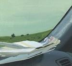 Siobhan McBride - Atlas - Gouache on Paper on Panel - 7 x 10 in