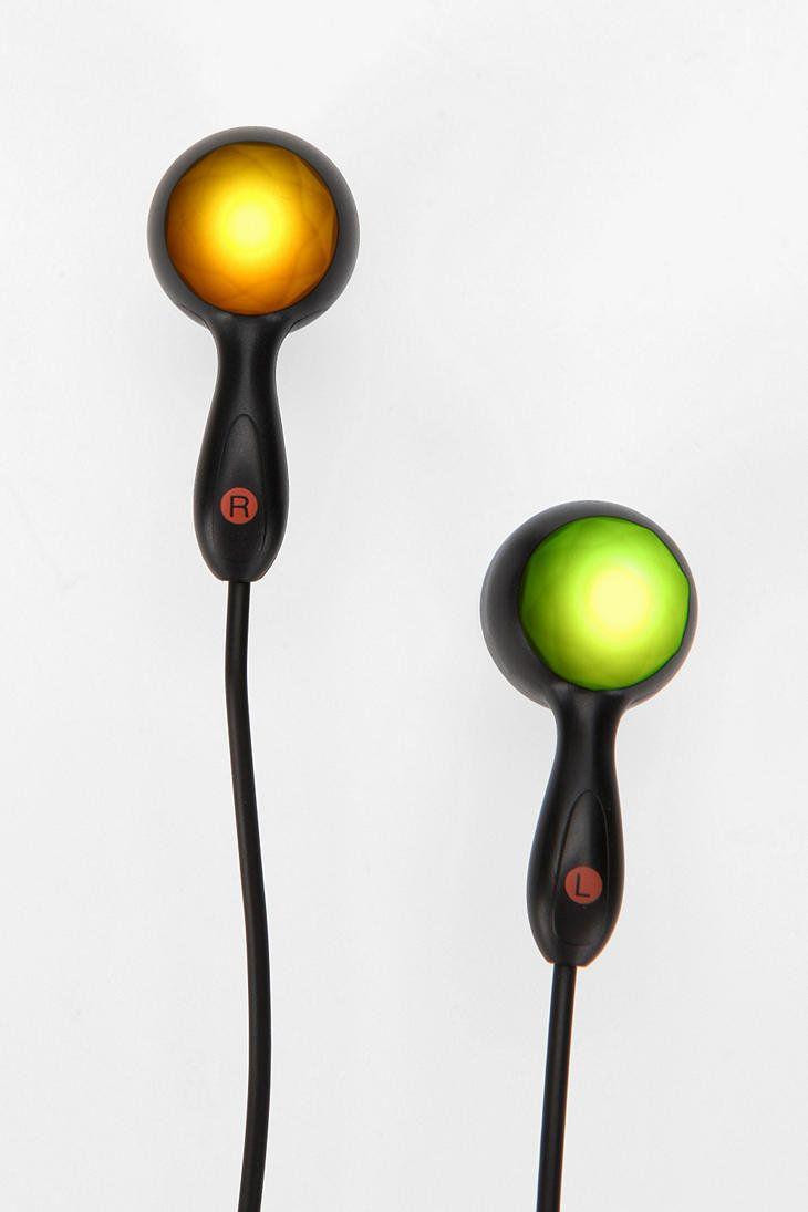 LED Earbud Headphones
