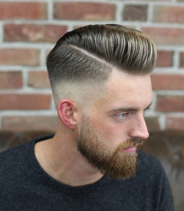 Trendy Frisuren Manner Undercut Mit Ubergang Haarschnitt Manner