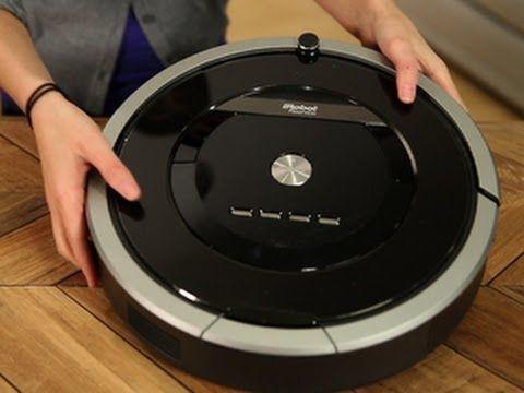 iRobot's new 800 series robot vacuum: iRobot Roomba 880 - YouTube