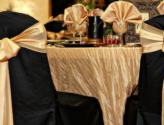 56 Best Crinkle Tafetta Tablecloths Napkins And Table