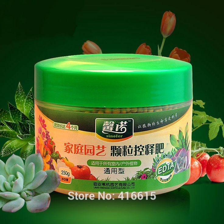 Granuli di Concime Fertilizzanti a Lento rilascio di alta Qualità Adatto per la Casa Giardino Fiore Vegetale Piante di Frutta 250g