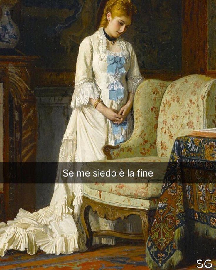 La sedia preferita - Charles Louis Baugniet (1856 ca.) #seiquadripotesseroparlare #stefanoguerrera