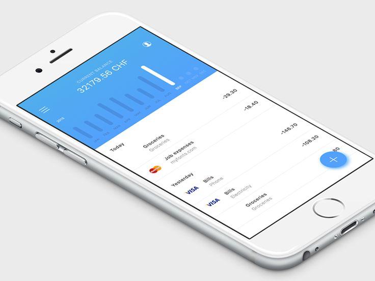 Finance app timeline