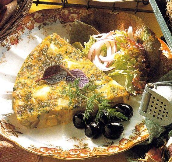 Spanyol omlett | Receptek