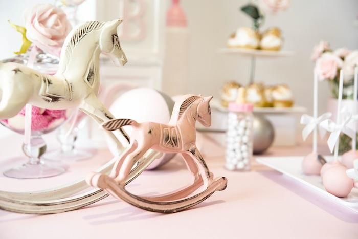 Rocking Horse Baby Shower with Really Cute Ideas via Kara's Party Ideas