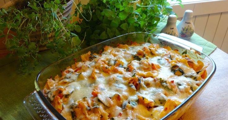 I dag ble det sen middag. De dagene man ikke vet helt når middagen skal serveres er det smart og lage en ovnsrett. Den kan lages i god ...