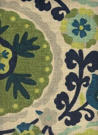 Bookbinder Azul - www.BeautifulFabric.com - upholstery/drapery fabric - decorator/designer fabric