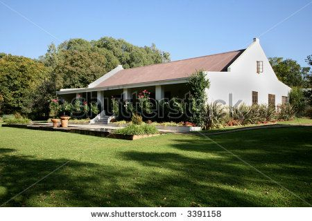 South African Africaner (Afrikaner) style house