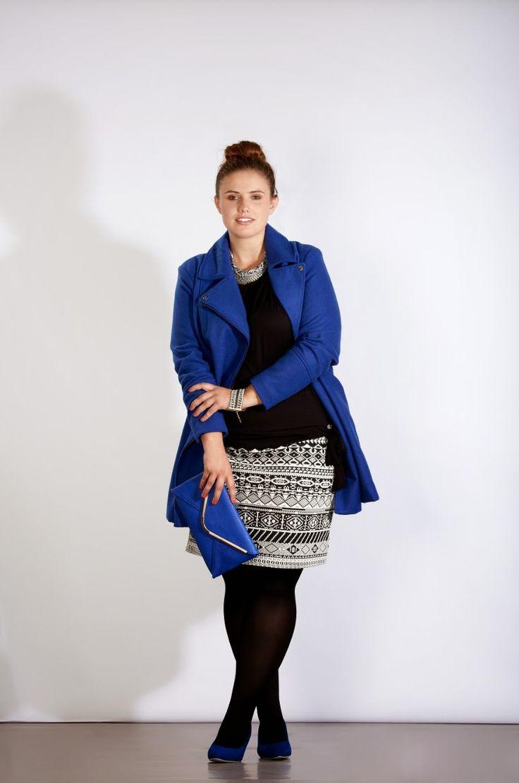 Anaïs Pénélope | Blog mode ronde, grande taille, plus-size fashion blog, fatshion.: Kiabi #3 - Graphik