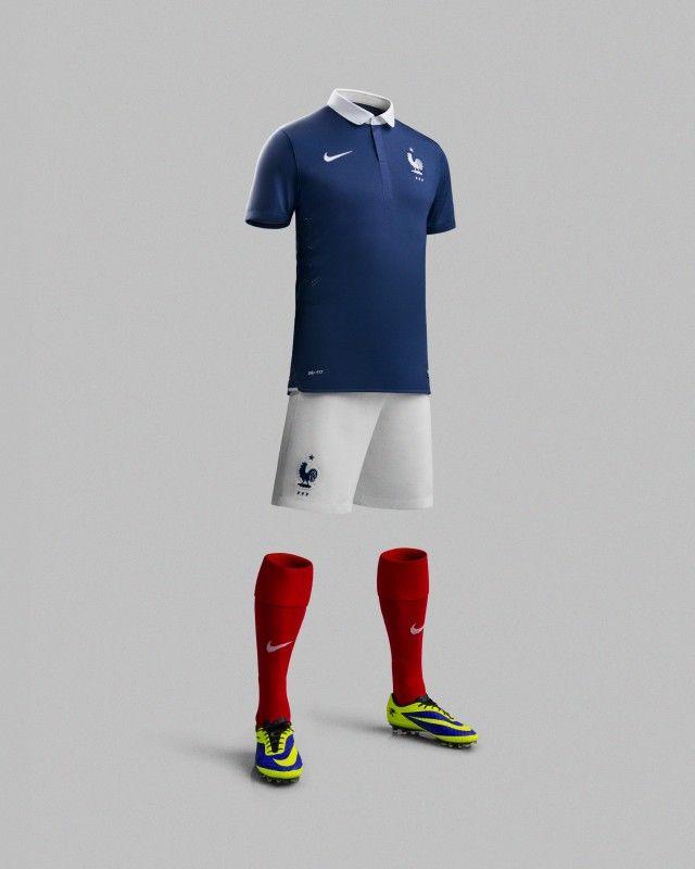 lmaillot de lequipe de france coupe du monde 2014 2   Le maillot de léquipe de France Coupe du Monde 2014   photo nike maillot image footbal...
