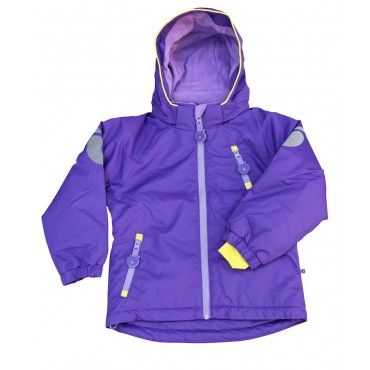 Smafolk Purple Winter Coat