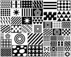 cool design patterns black and white. black u0026 white red patterns for your newborn free printable cool design and