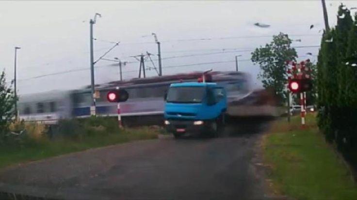 Train Crash Compilation and TRUCKS Crash compilation