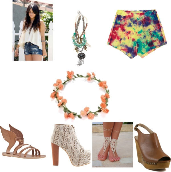 """festival look"" by babycakes250 on Polyvore"