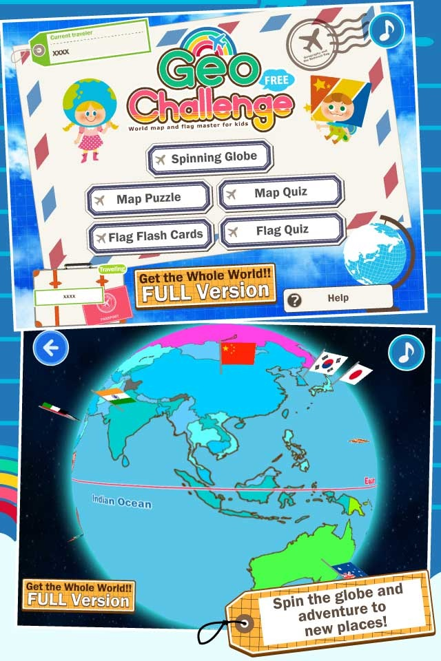 56 best map skills images on pinterest school teaching social geo challenge flags maps and geography learning game for kids giveaway the imums gumiabroncs Images