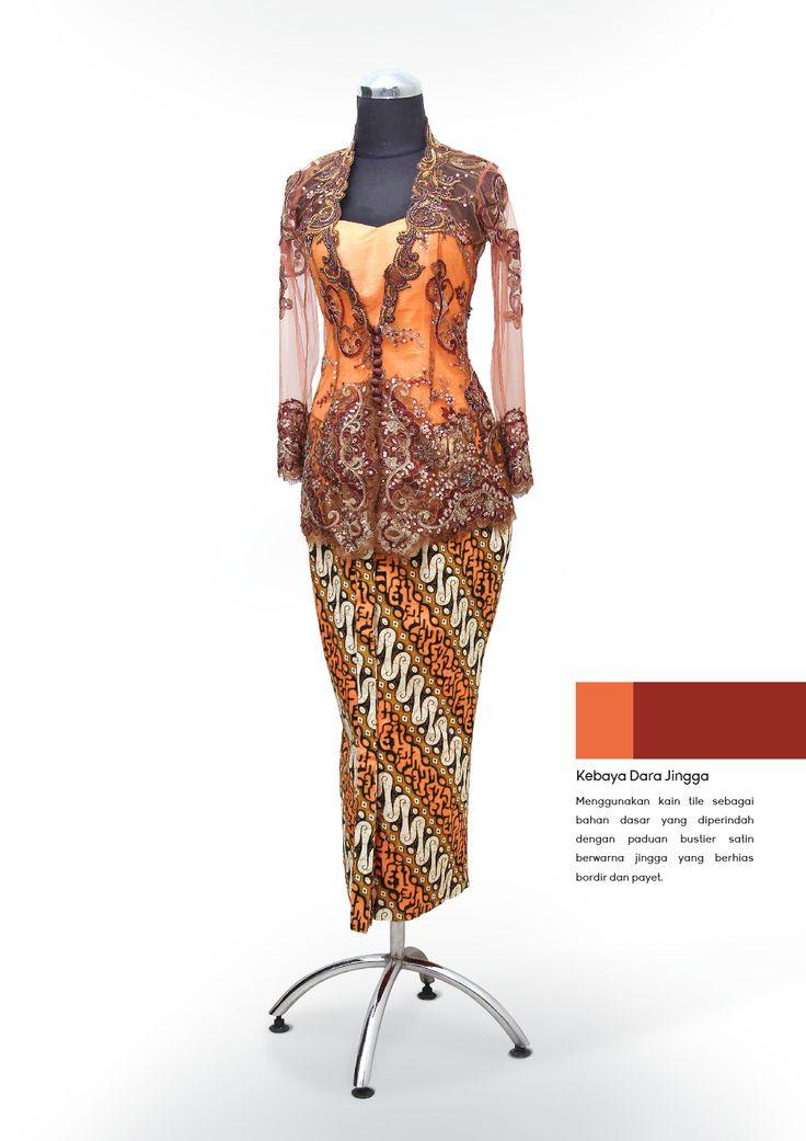 Kebaya Dara Jingga #kebaya #traditional