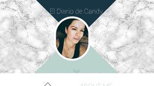 ¡Mega emocionada de presentarles el nuevo diseño del blog! :D http://www.eldiariodecandy.com