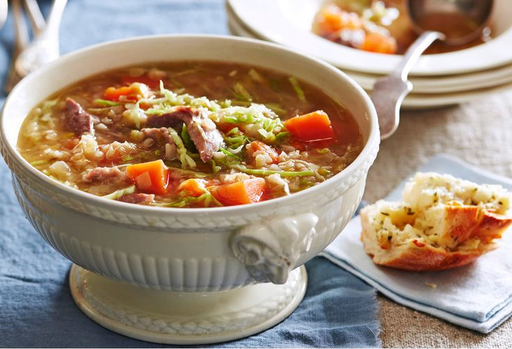 Let this simmer over a cold weekend and enjoy soup all week.