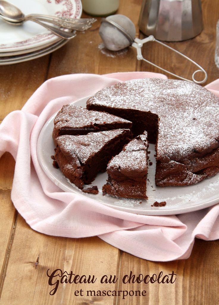 Le gâteau au chocolat par excellence, celui de Monsieur Cyril Lignac. Ultra moelleux et fondant grâce à l'utilisation du mascarpone à la place du beurre.