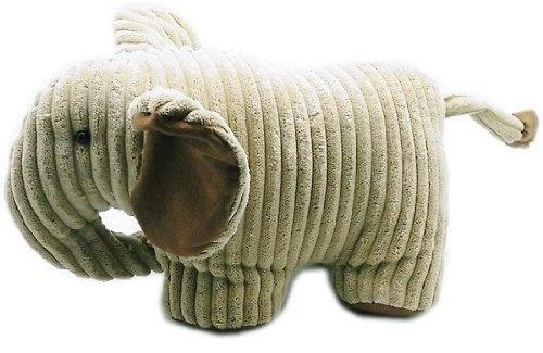 Fabric Elephant Door Stop ~ Cord Ribbed 19X30cm Doorstop: Amazon.co.uk: Kitchen & Home