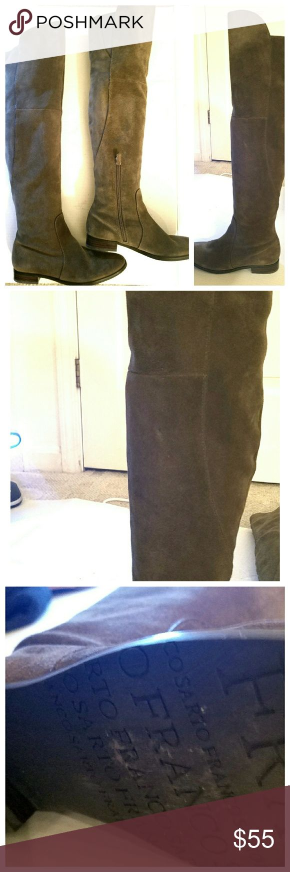 I just added this listing on Poshmark: Franco Sarto Sage Green Suede Over The Knee Boot. #shopmycloset #poshmark #fashion #shopping #style #forsale #Franco Sarto #Shoes
