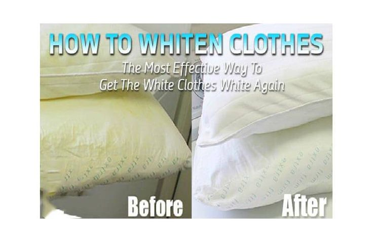 How To Whiten Clothes: The Most Effective Way To Make The White Clothes White Again