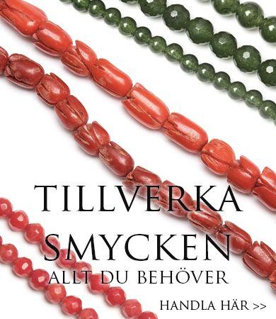 gör egna smycken av pärlor - smyckestillverkning allt du behöver