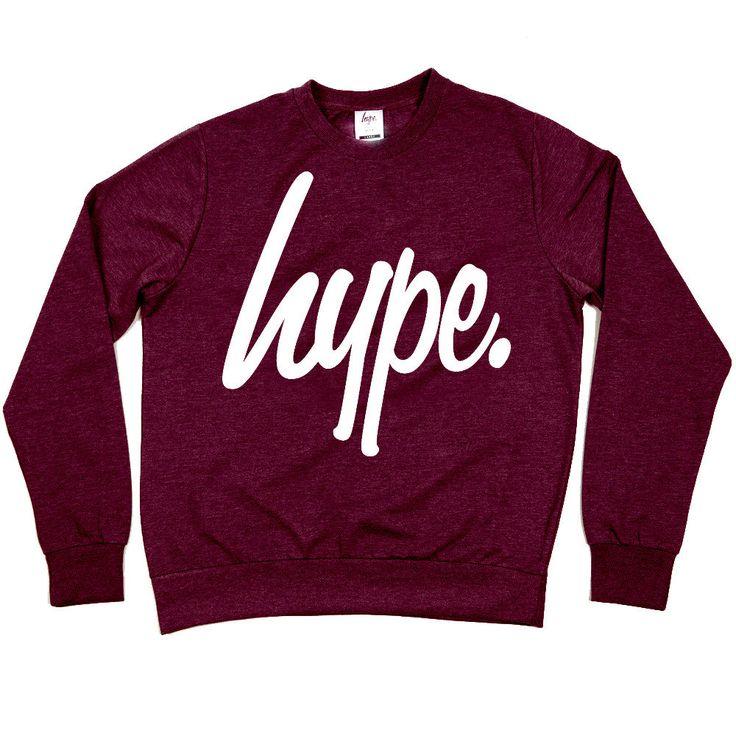HYPE. Clothing — HYPE.MAROON CREW on Wanelo