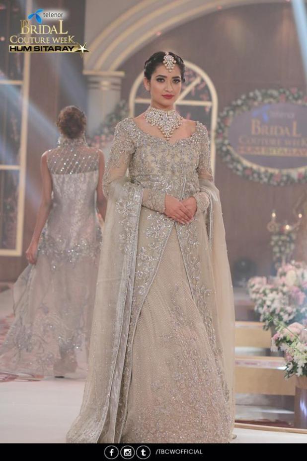 Nilofer Shahid Bridal Event Wear 2016 Telenor Fashion Week