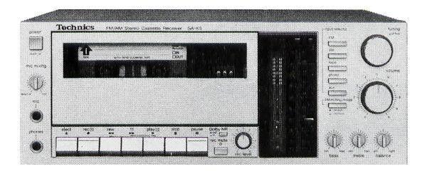 Technics SA-K5 (launched 1982)