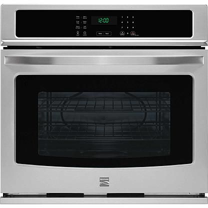 """Kenmore Kenmore 49423  30"""" Electric Self-Clean Single Wall Oven - Stainless Steel"""