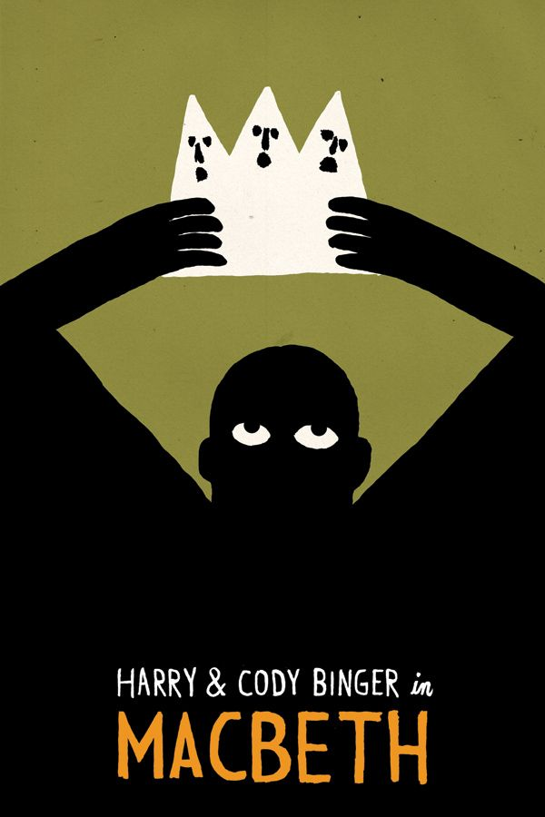 Macbeth, Cover by Jean Jullien