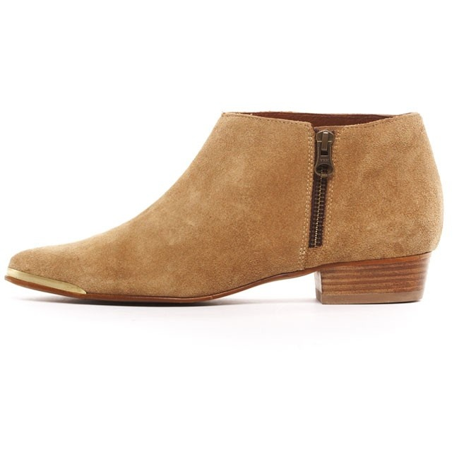 Sixty-Seven 'Enrica' Suede bootie bootie , flat, Shop for Indie Shoes
