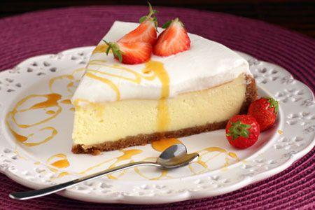 Receta de una torta MOSTRISIMA!  Ricetta d'una buonissima torta!  Super Delicious Cake recipe!:  http://ricette.giallozafferano.it/New-York-Cheesecake.html