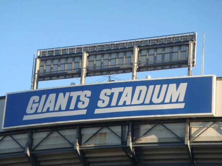 #nyg Giants Stadium #meadowlands #NJ