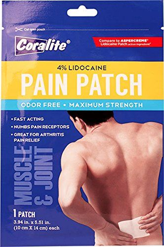 4% Lidocaine Pain Patch, Maximum Strength, Bulk Case of 24  Affordable pain relief patch  Lidocaine pain patch  Pain relief patch  Bulk pain relief patches