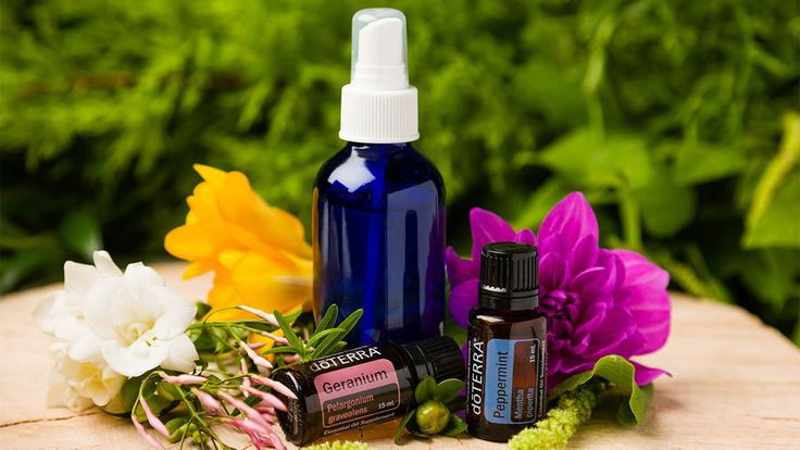 DIY: Herbal Hairspray with Geranium Oil | doTERRA Essential Oils