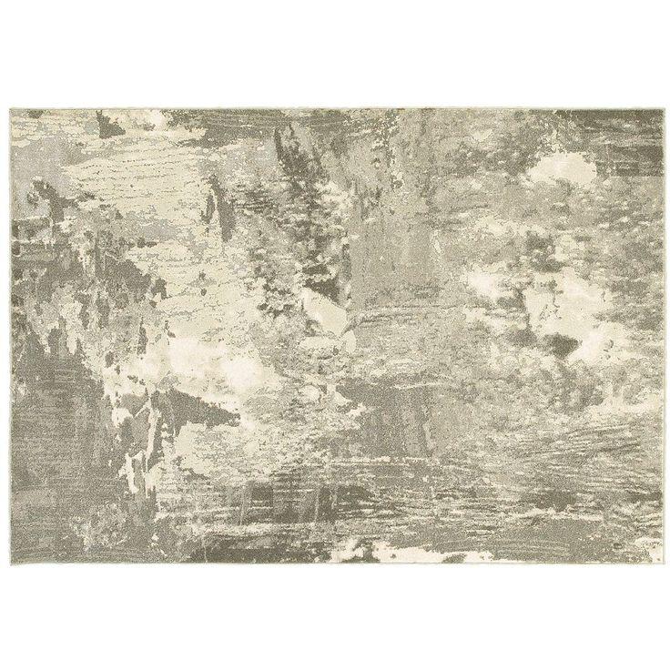 StyleHaven Riley Stoneworks Abstract Plush Rug, Beig/Green (Beig/Khaki)