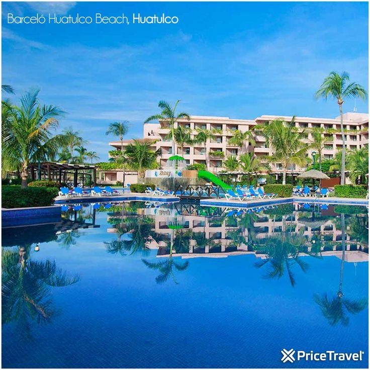 Barceló Huatulco Beach es un hotel todo incluido situado en la playa, en la Bahía de Tangolunda, la más grande de las bahías de #Huatulco. #Hoteles #Viajes #México