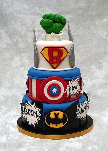 Quand votre enfant aime les super héros !!