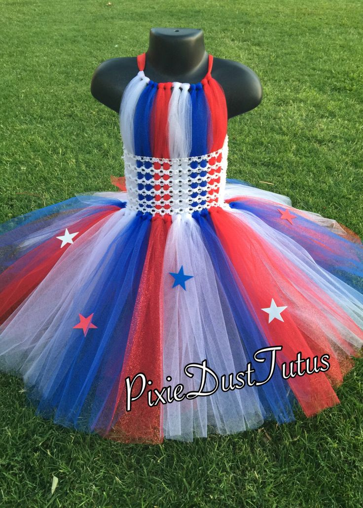 A personal favorite from my Etsy shop https://www.etsy.com/listing/278738580/4th-of-july-tutu-dress