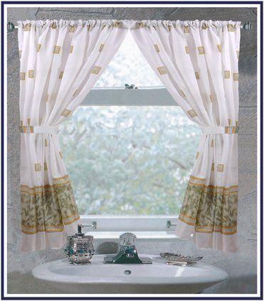Carnation Home Fashions Windsor Fabric Window Curtain in Jade