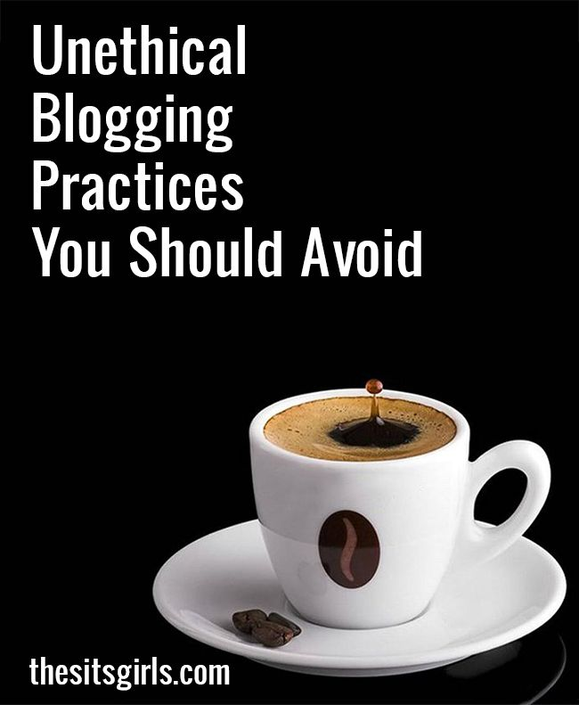 Blogging Tips | We all want to grow our blogs, and it can be tempting to take shortcuts - but there are some lines that shouldn't be crossed. Avoid these unethical blogging practices and build your blog the right way.