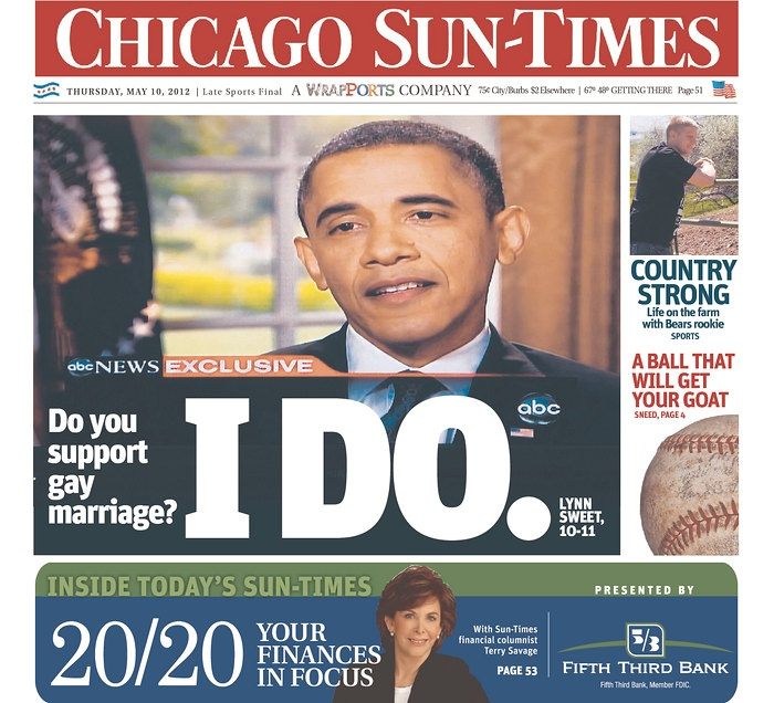 Obama platform gay marraiage